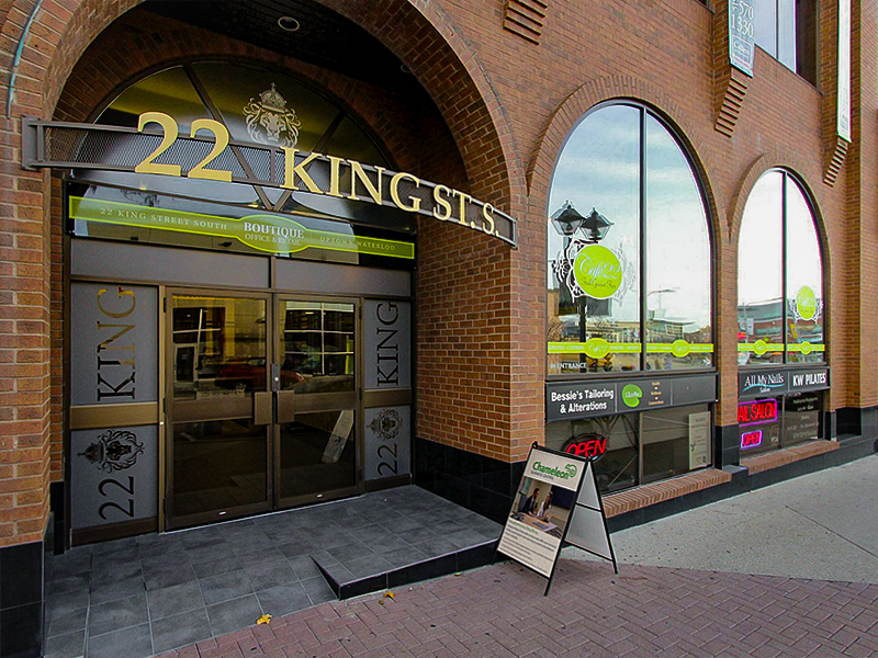 22 King Street South, Chameleon Business Centres, Reception Services, Kitchener-Waterloo